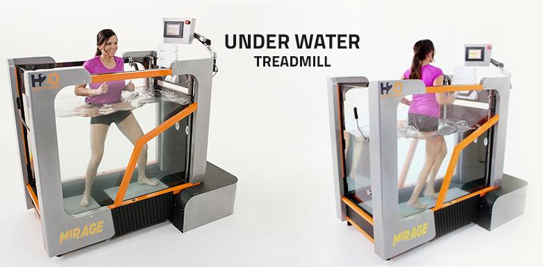 The Benefits of Underwater Treadmills